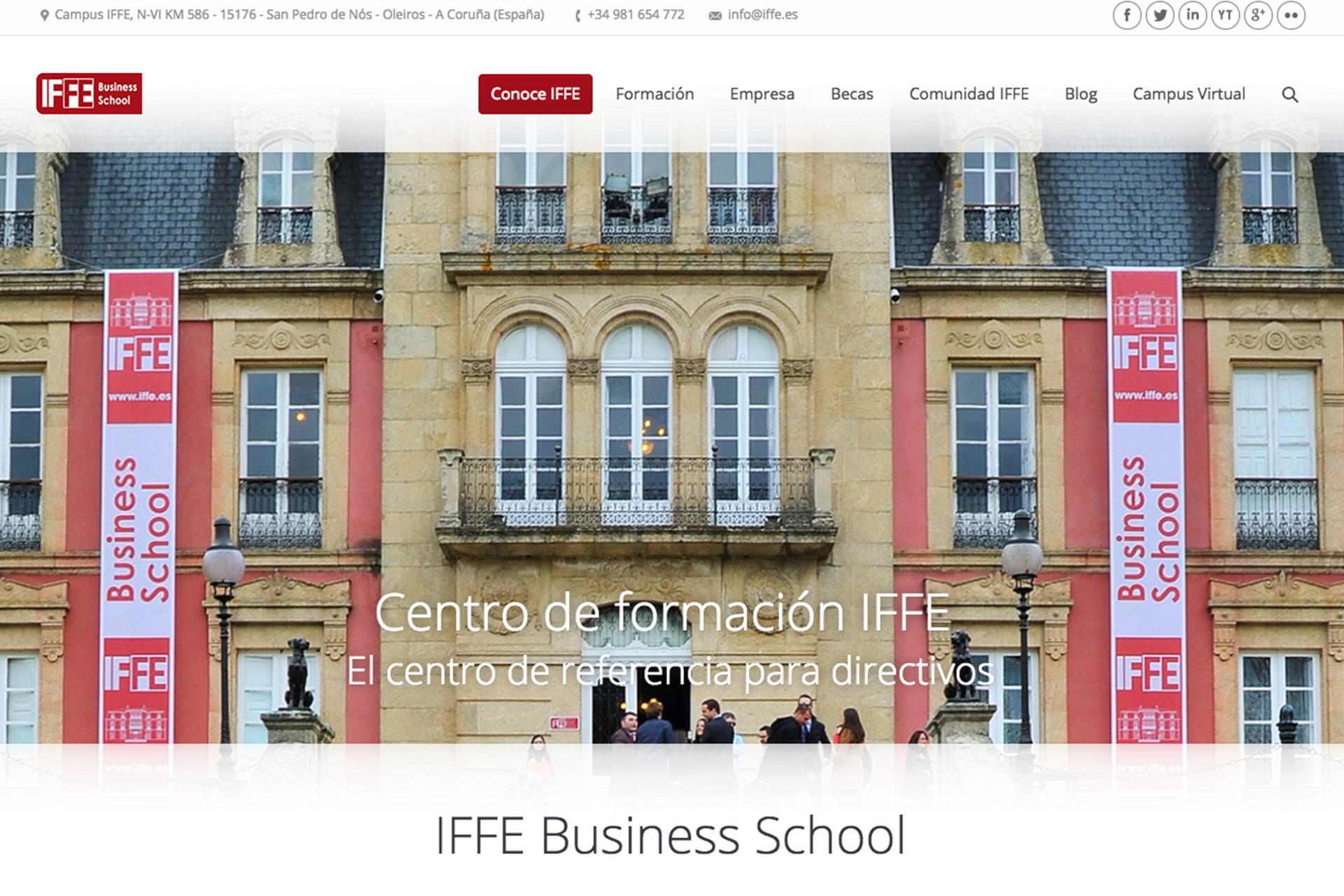 Desarrollo web para IFFE